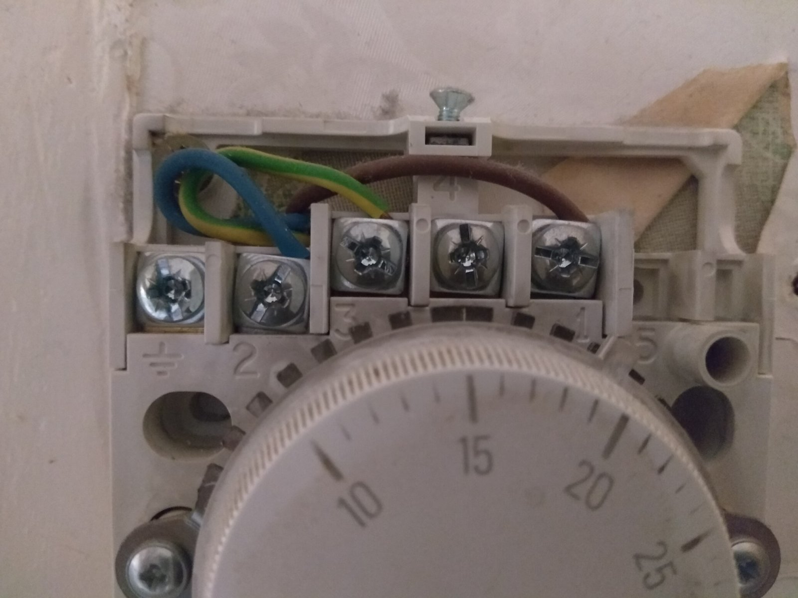 Problems after swapping T6360B for TP5000si thermostat | DIYnot Forums