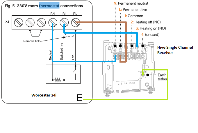 Combi Boiler Thermostat Wiring Diagram - Product Wiring Diagrams •