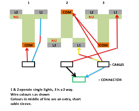 wiring 3 gang  2 way light switch diynot forums Single Pole Light Switch Diagram 2 Pole Switch Diagram