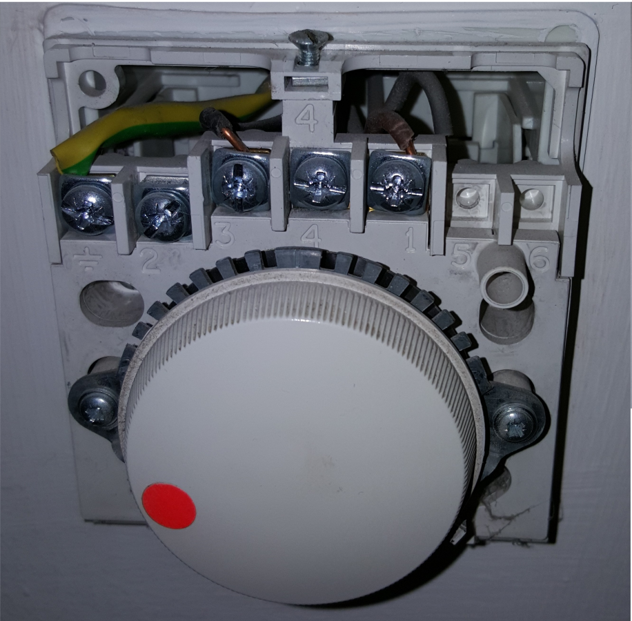 Replacing basic dial room thermostat with digital diynot forums cheapraybanclubmaster Gallery