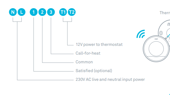 Replacing Honeywell Thermostat To Nest Wireless Thermostat