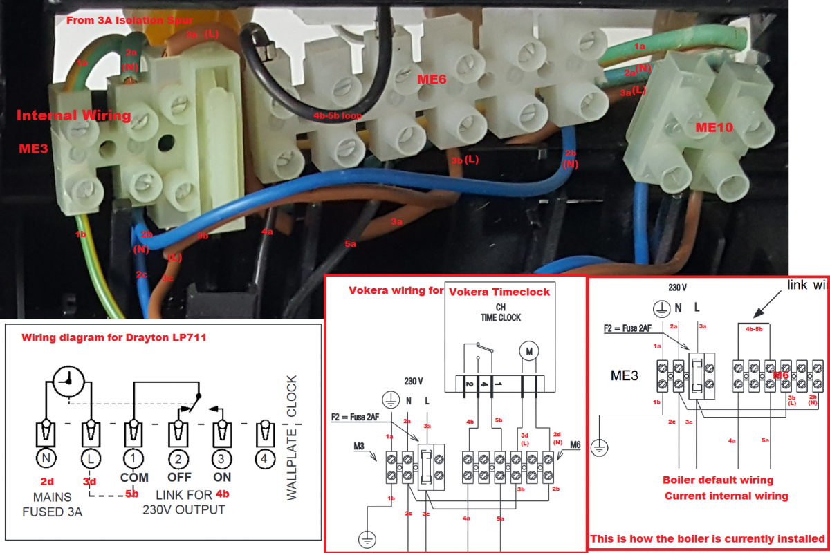 Boiler Wiring Help Wanted  Please  Vokera Linea 28he To