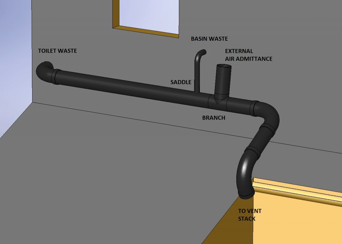 External Air Admittance And Waste Pipe Design Diynot Forums