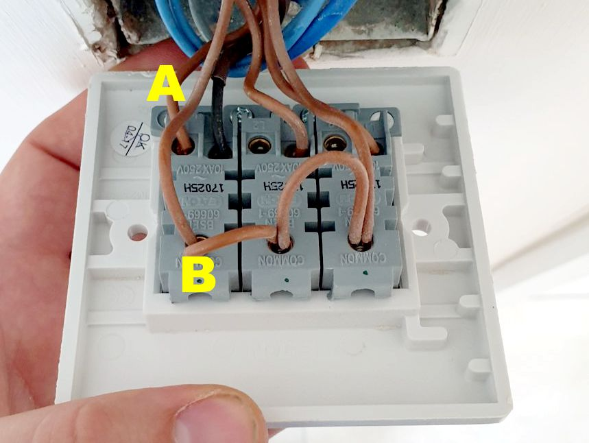 Wiring For A 2 Gang Light Switch