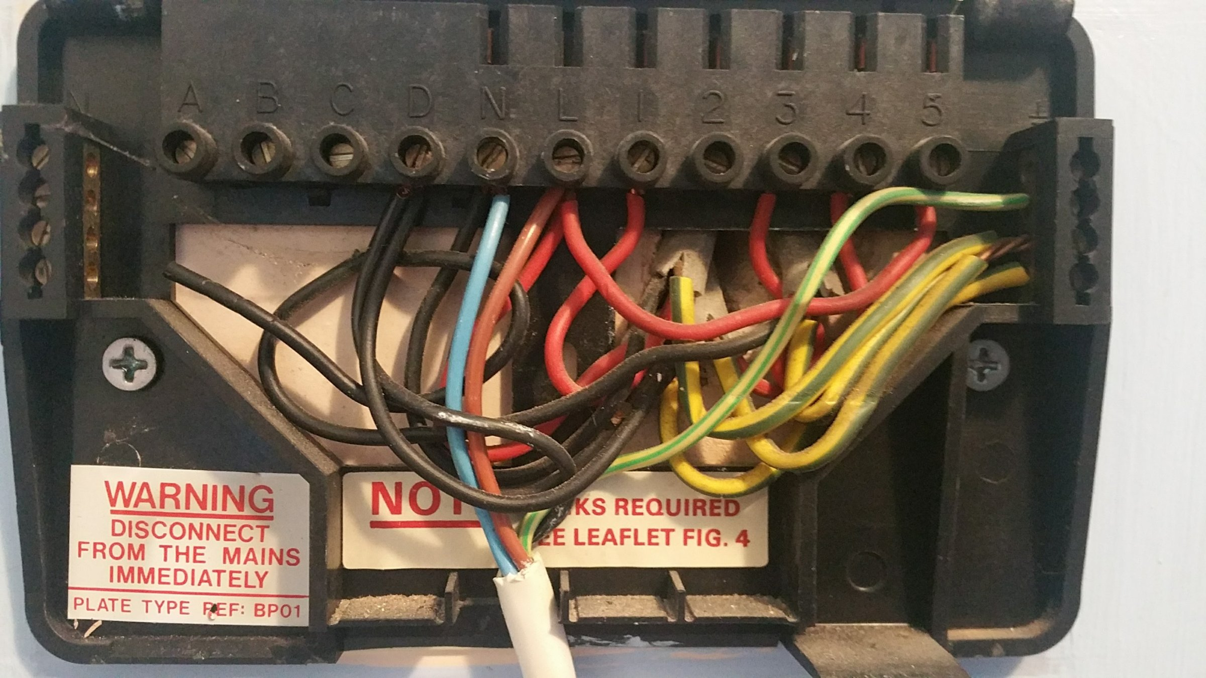 Nest How To Convert Potterton Ep3002 Wiring Diynot Forums