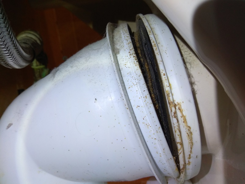 Toilet Soil Pipe Fitting leaking | DIYnot Forums
