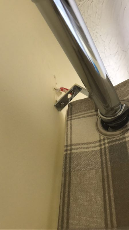 How To Fix Curtain Rod Pulled Out Of Wall Smartvradar Com