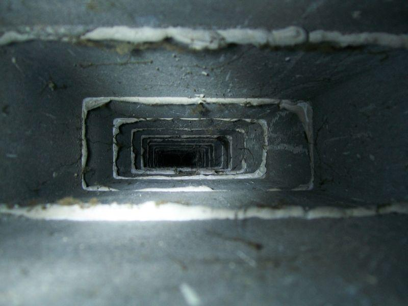 Flexible flue - is this as complete a bodge as I think it ...