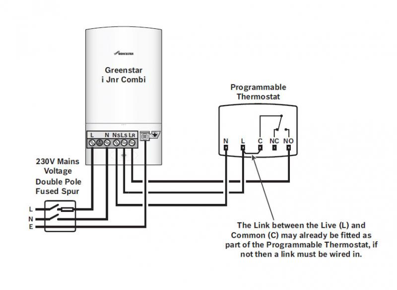 diagram central boiler thermostat wiring diagram full