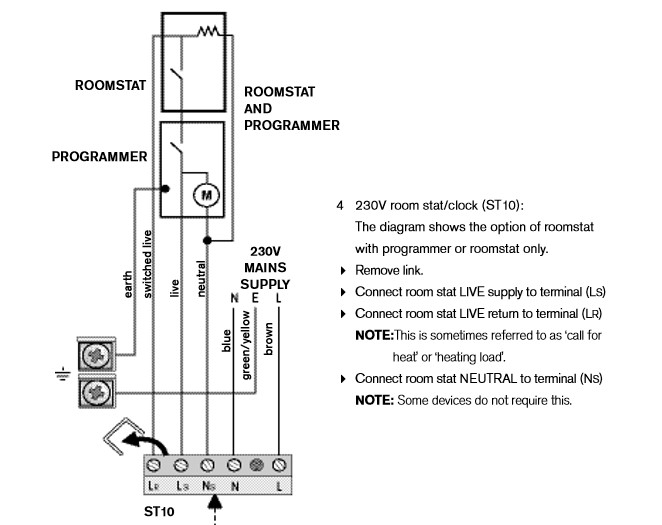 Drayton Central Heating Programmer Wiring Diagram : Wiring help replacing a drayton lp with solus dt rf