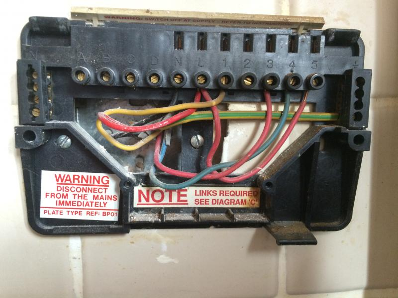 Wiring Diagram For Honeywell St7100 : Want to replace programmer time the water