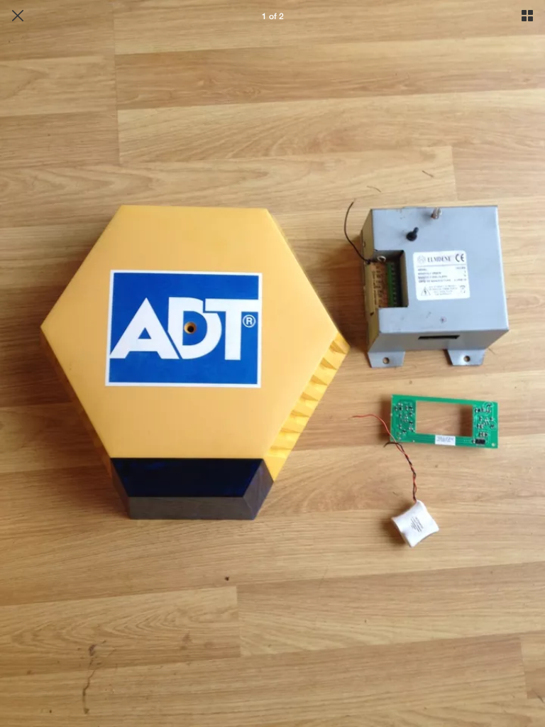 Wiring Diagram For Alarm Bell Box : Adt honeywell alarm panel wiring diagram circuit