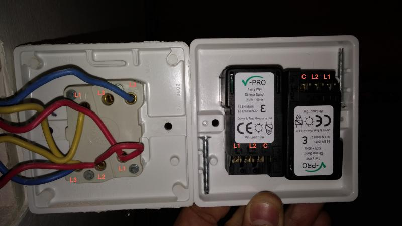 wiring diagram for a switched outlet with Help Replacing Double Switch For Double Dimmer Switch on Lighting ceiling rose together with Watch in addition Bourget Wiring Diagram also How To Replace A Garbage Disposal Part 5 besides How Should I Wire 2 Switches That Control 1 Light And 1 Receptacle.