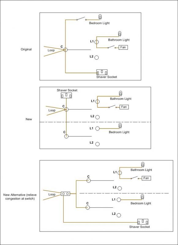 Double Switch Circuit Best Practice | DIYnot Forums