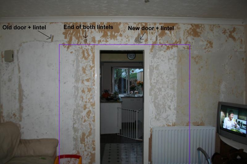 Widening A Door In A Load Bearing Wall Diynot Forums