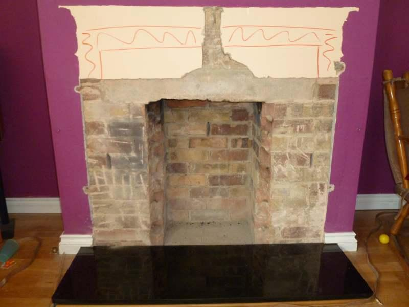 Opening Up A Fireplace And Installing A Stove Diynot Forums