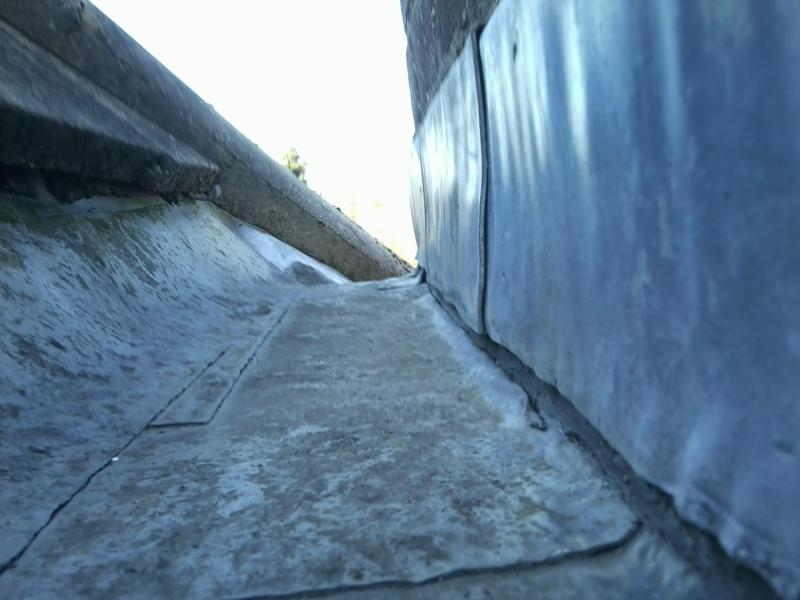 Leaking Roof Lead On Back Apron Of Chimney Diynot Forums