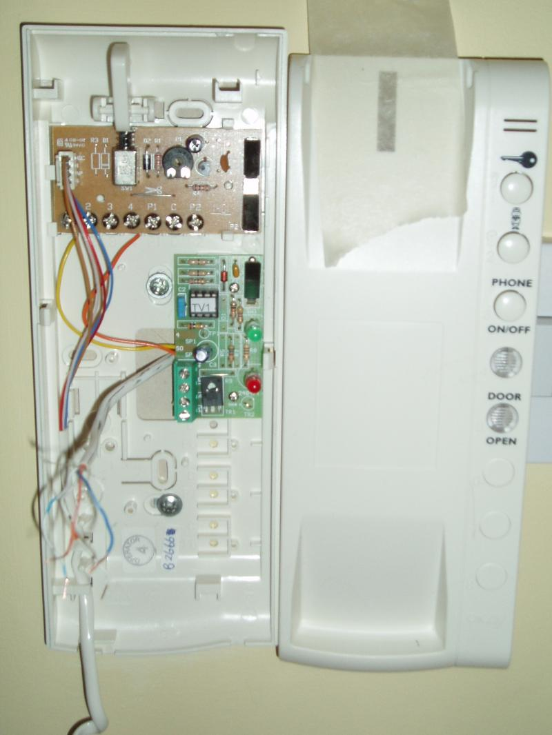Entry Phone Wiring Colours Diynot Forums