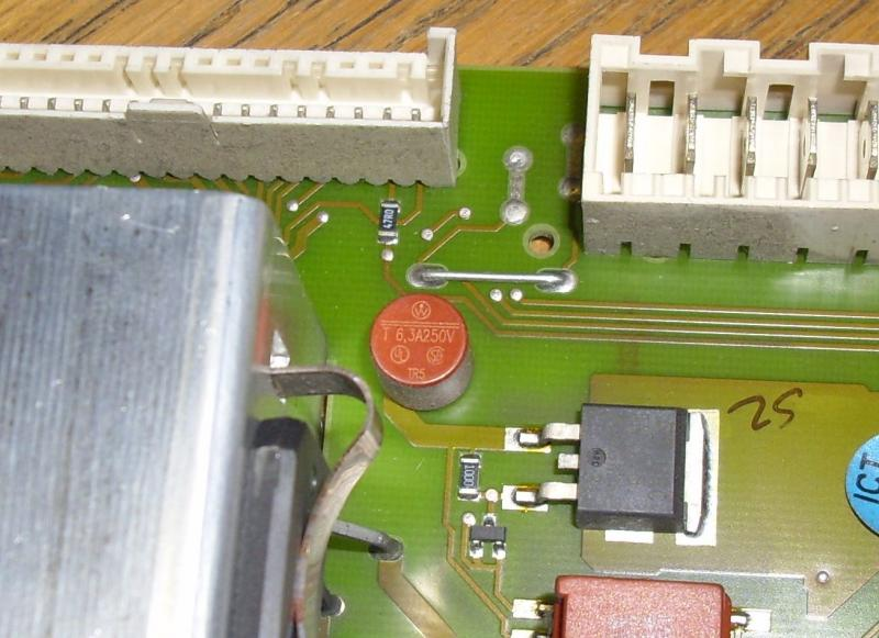 Pcb Fuse On Miele El200c