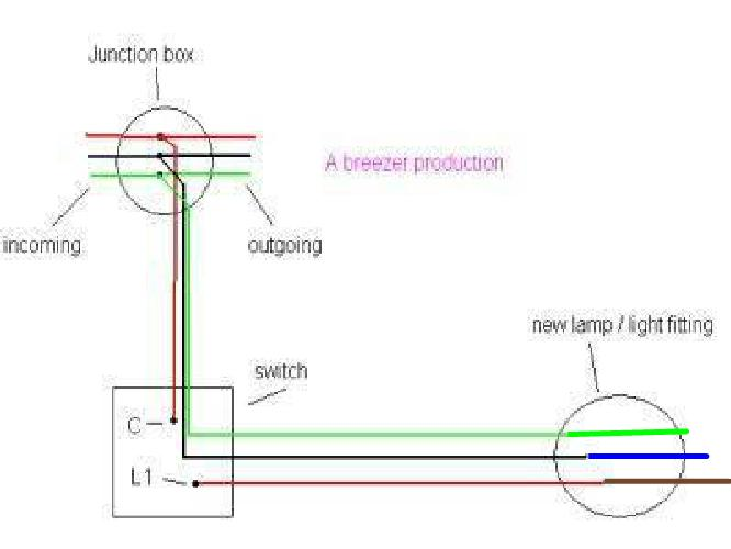 Wiring Outside Lamp (Mains Cable & Switch Cable To Lamp) | DIYnot Forums