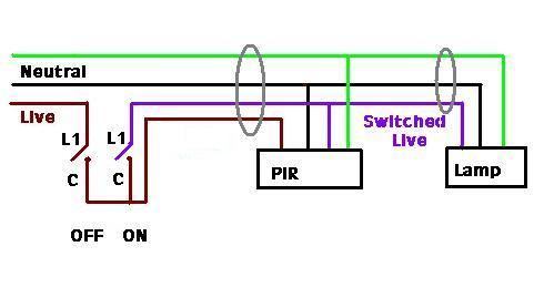 light sensor wiring diagram wiring diagram lutron occupancy sensor wiring diagram nilza source caution both lights must be powered from the same circuit