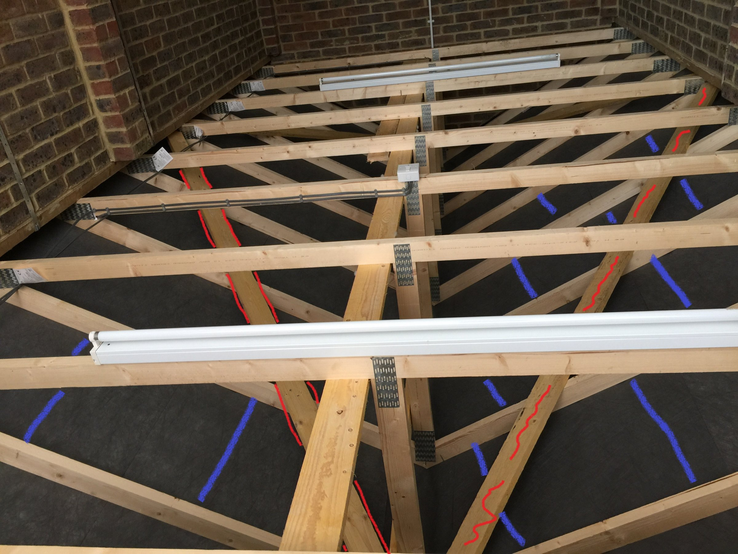 Roof truss diynot forums for Roofing forum