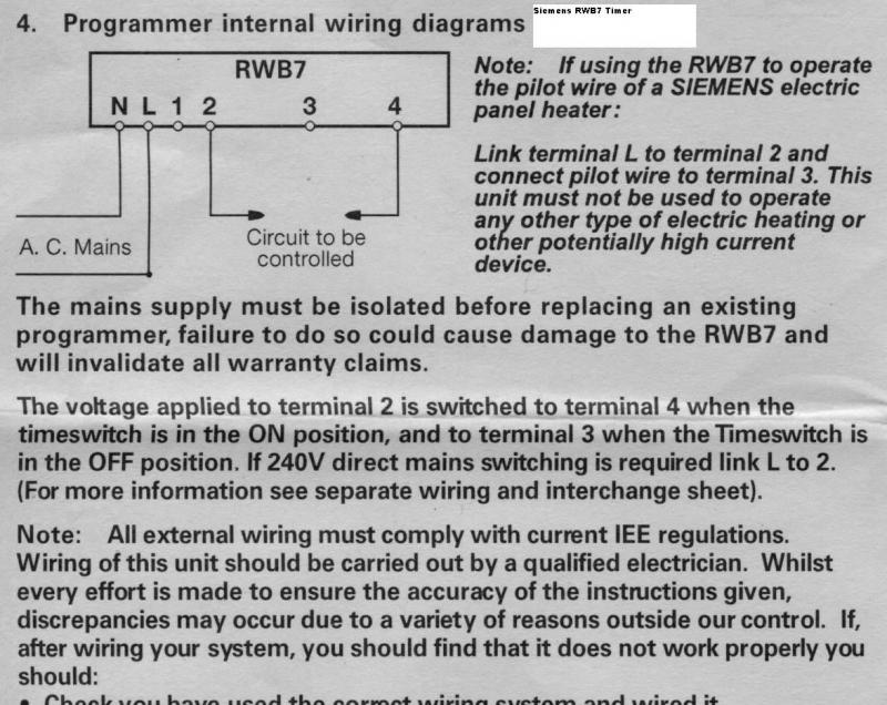 full wiring digital thermostat to override the timer? diynot forums siemens rwb7 wiring diagram at bayanpartner.co