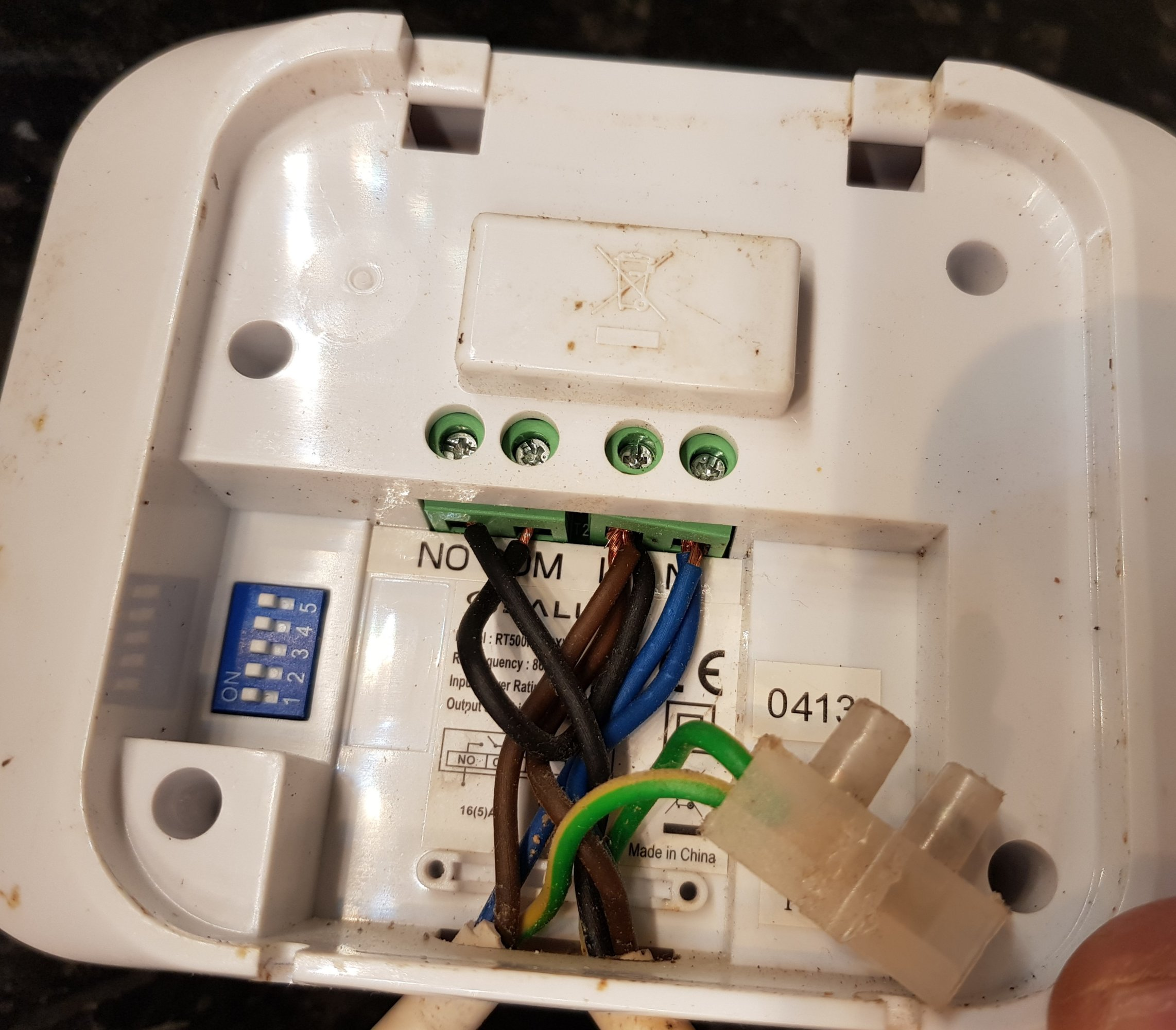 Help Please In Self Installing Hive With Salus Rt500rf And Valiant Ecotec Plus 831 Boiler