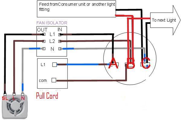 Bathroom isolator switch wiring diagram arbortech bathroom isolator switch wiring diagram how to wire in a bathroom extractor fan vent wiring asfbconference2016 Image collections