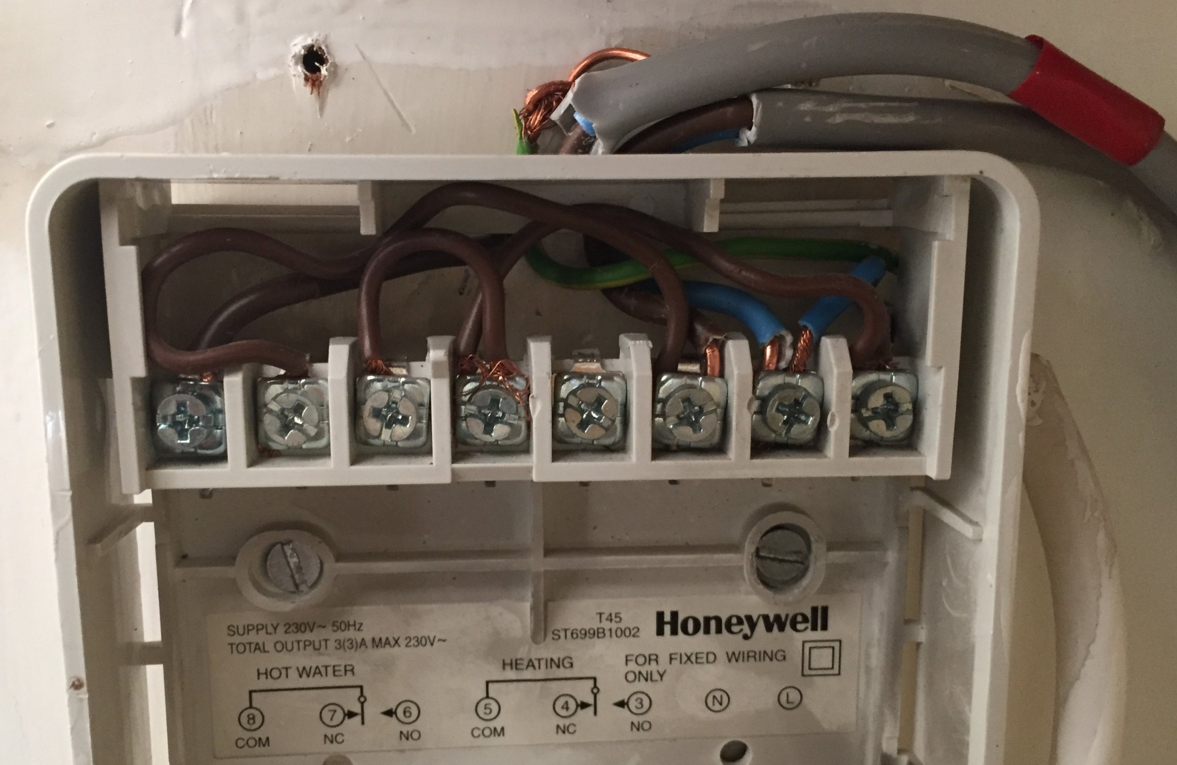 st699b honeywell diynot forums iphone charger wiring diagram