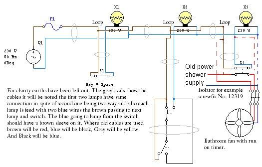 Mk Isolator Switch Wiring Diagram : Standard lights wiring diag diynot forums