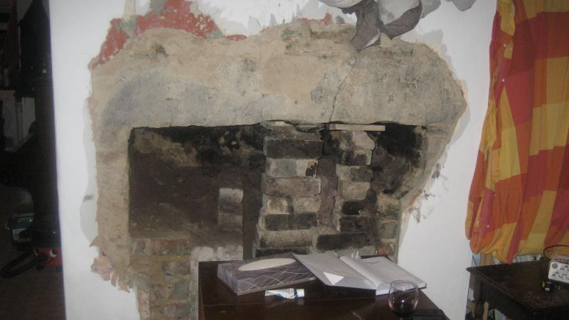 Crack In Stone Fireplace Lintel Diynot Forums