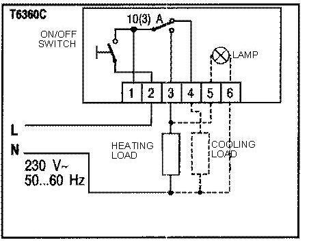 T45 Wiring Harness besides T6360c Wiring together with  on wiring diagram for honeywell st699