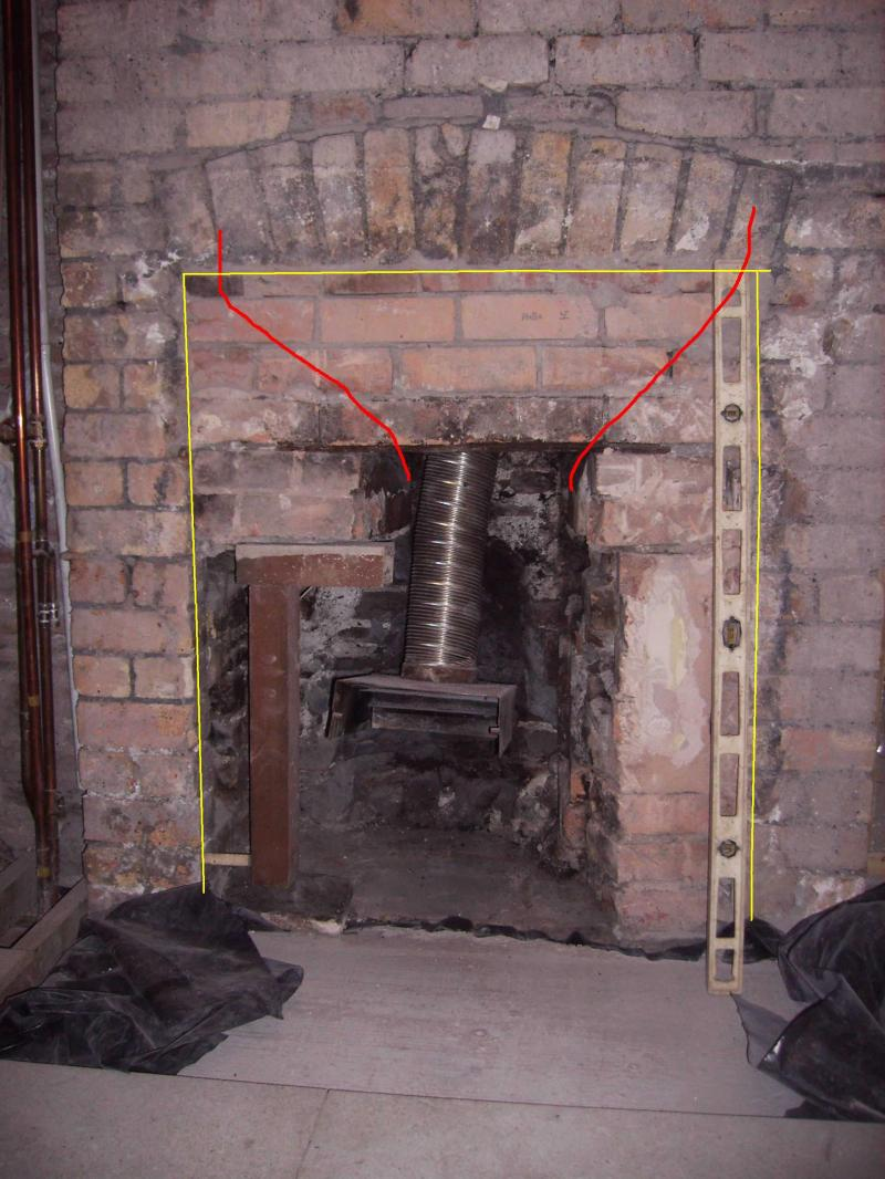 Opening Up A Fireplace Diynot Forums