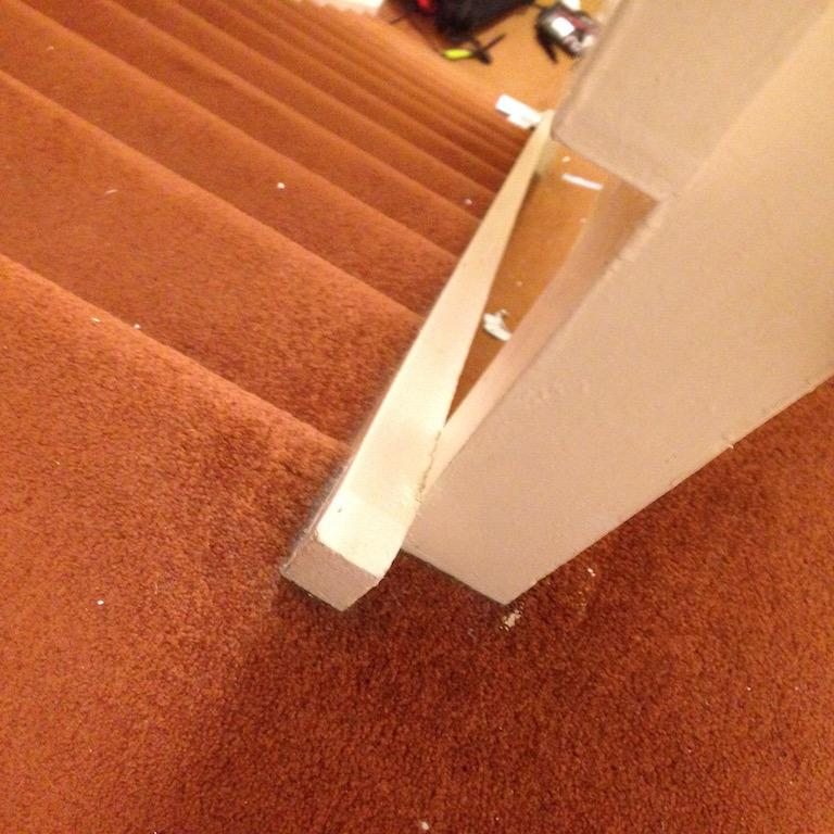 Ing Replacement Newel Posts To 1970s Staircase