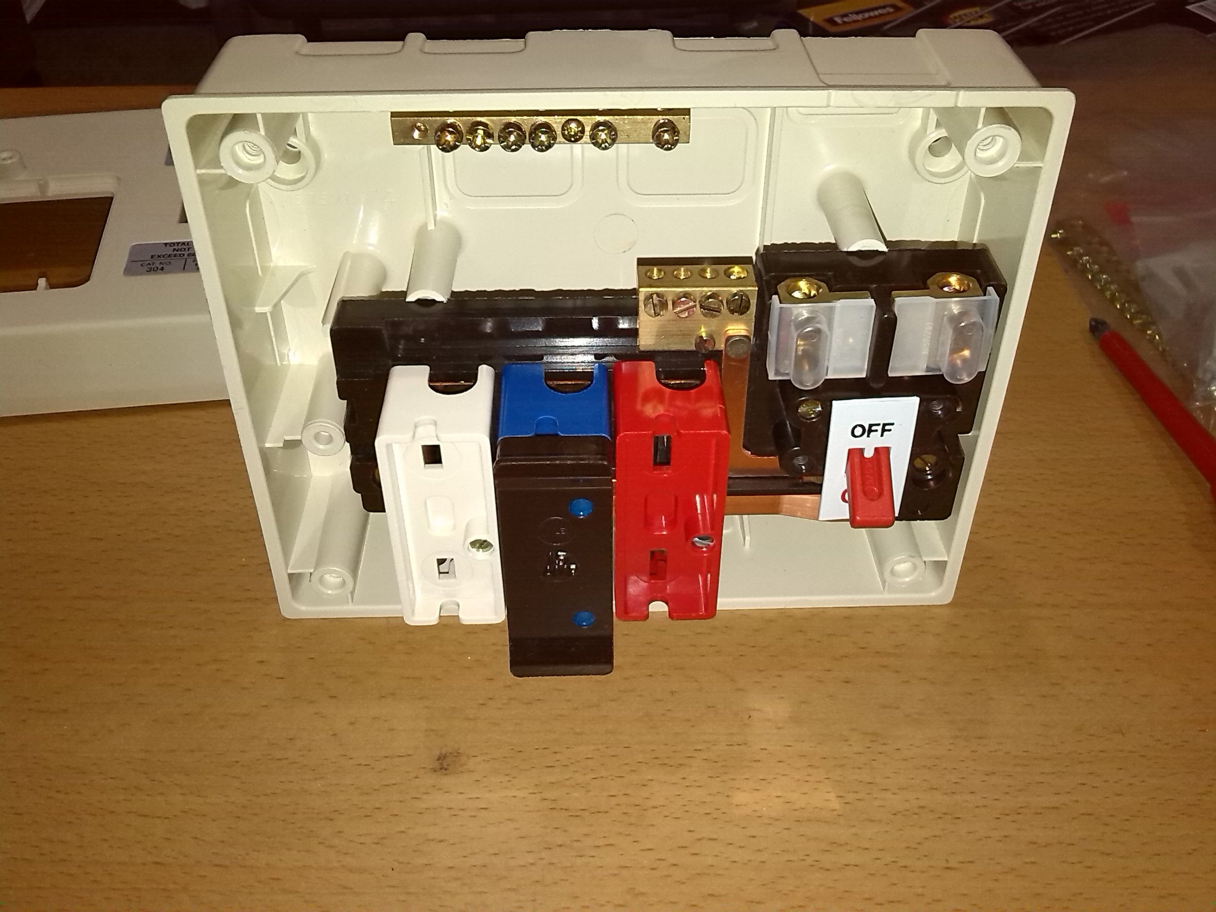 wylex fuse box replacement