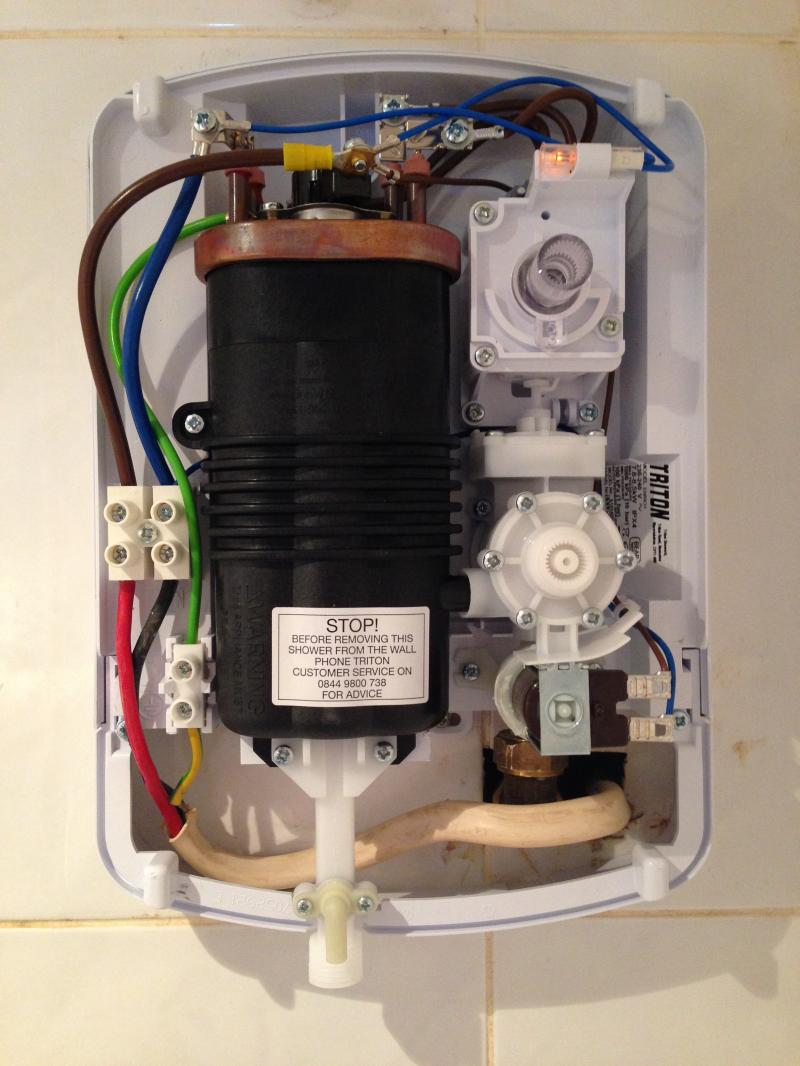Triton Enrich Not Working Ever Diynot Forums Shower Electric Wiring Water Pressure Is Good And Unit Has Power Neon On Any Ideas Duff Or Installer