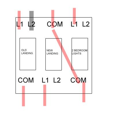 4 Gang 1 Way Switch Wiring Diagram - Wiring Diagram G8  Gang Way Light Switch Wiring Diagram on