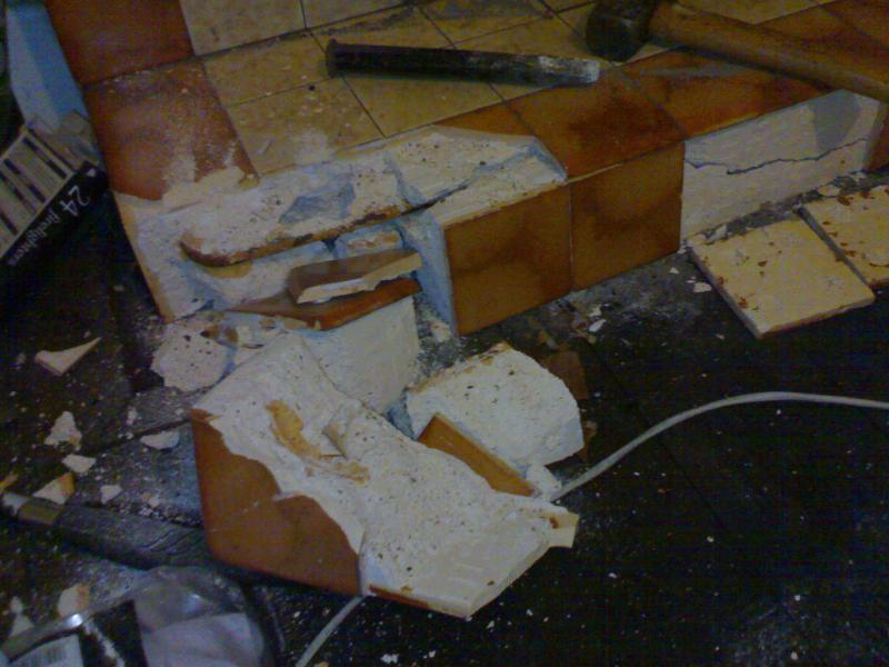 Possible asbestos in fireplace? | DIYnot Forums