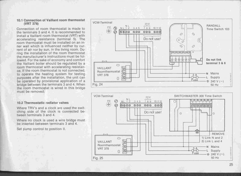 siemens controller vailant boiler wiring diynot forums is that right as different manufacturers do they have different wiring conventions