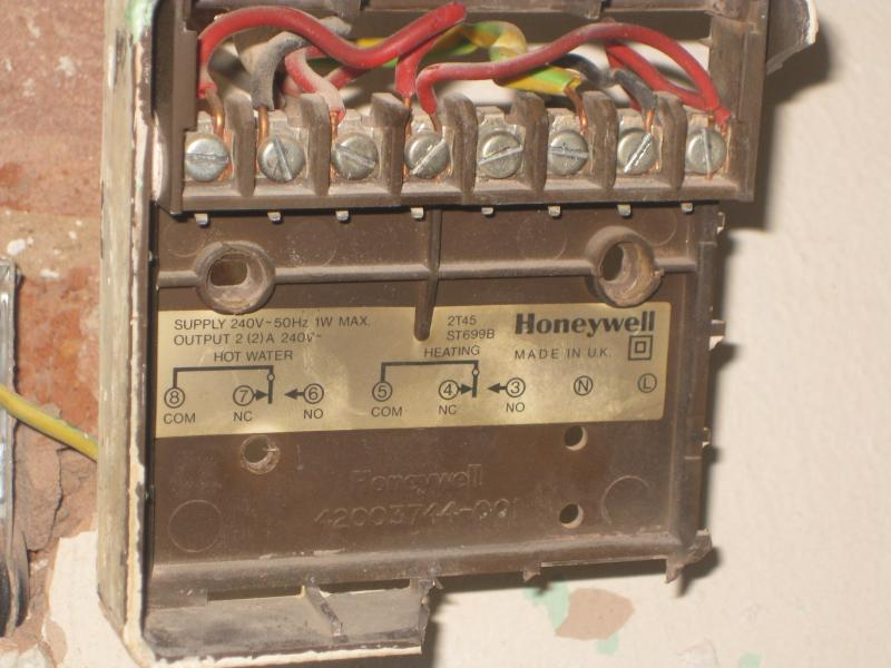 Wiring A Salus Ep200 To Replace Honeywell St699