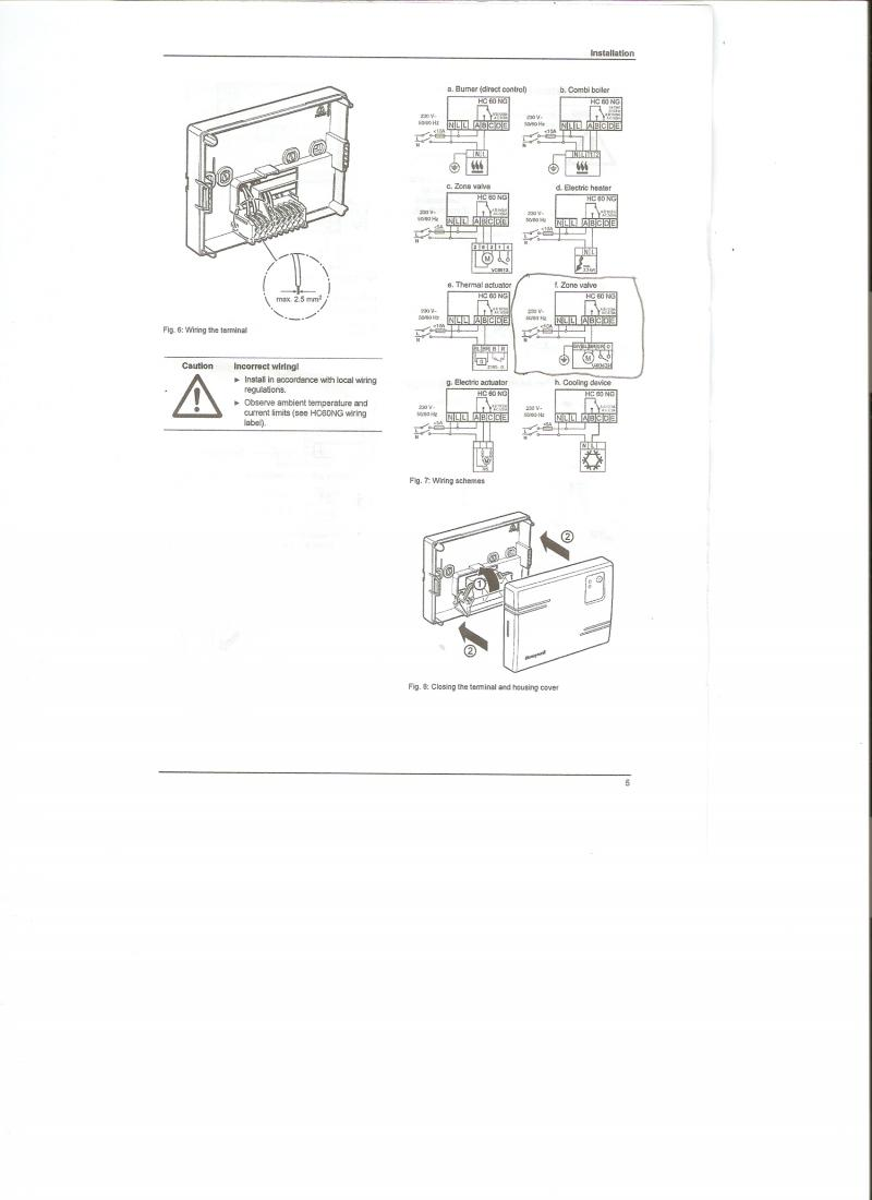 y plan wiring diagram with wireless room stat