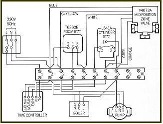 Loose wire behind honeywell st9400c diynot forums heres a diagram of the entire system asfbconference2016 Gallery