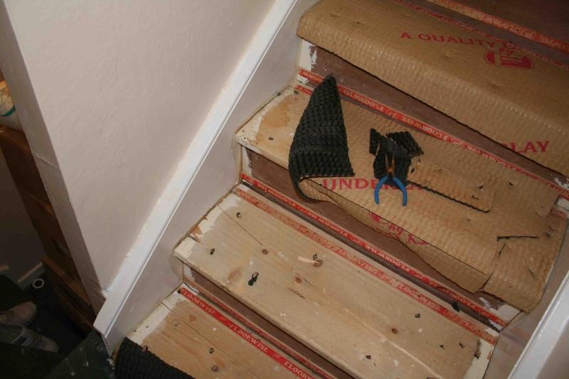 I Was Looking To Fix Them, I Spoke To A Joiner Who Was Out Doing Some Work  For Me And He Said You Would Access To Under The Stairs To Fix Them.