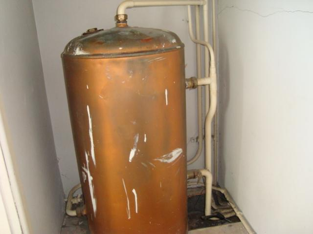 Primatic cylinder diynot forums for Copper hot water tank