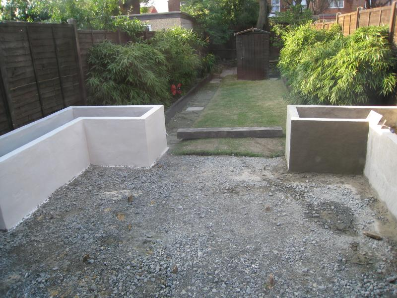 Rendered Garden Walls Crumbling Diynot Forums