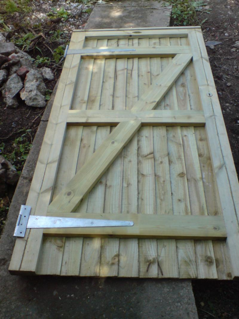 Hanging A Wooden Gate Warped Diynot Forums