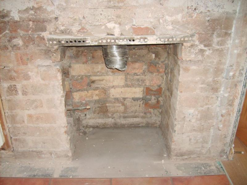 Closing fireplace flue liner need removing or not for Close chimney flue