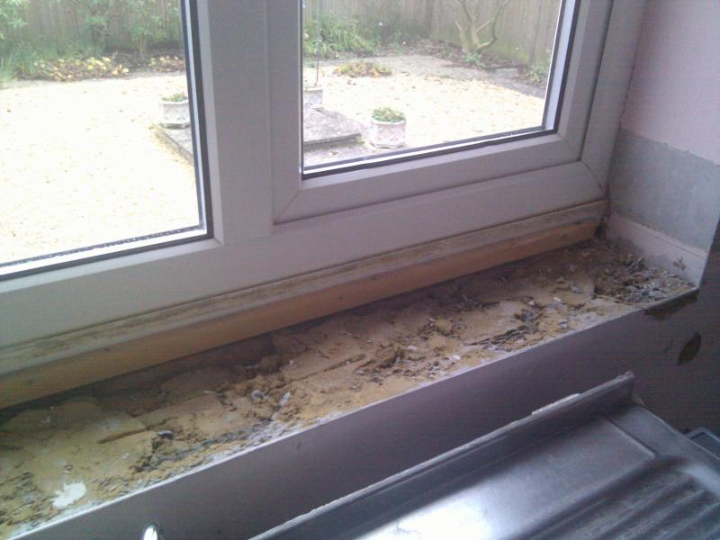Creating Window Sill Boxing On Which To Tile Diynot Forums