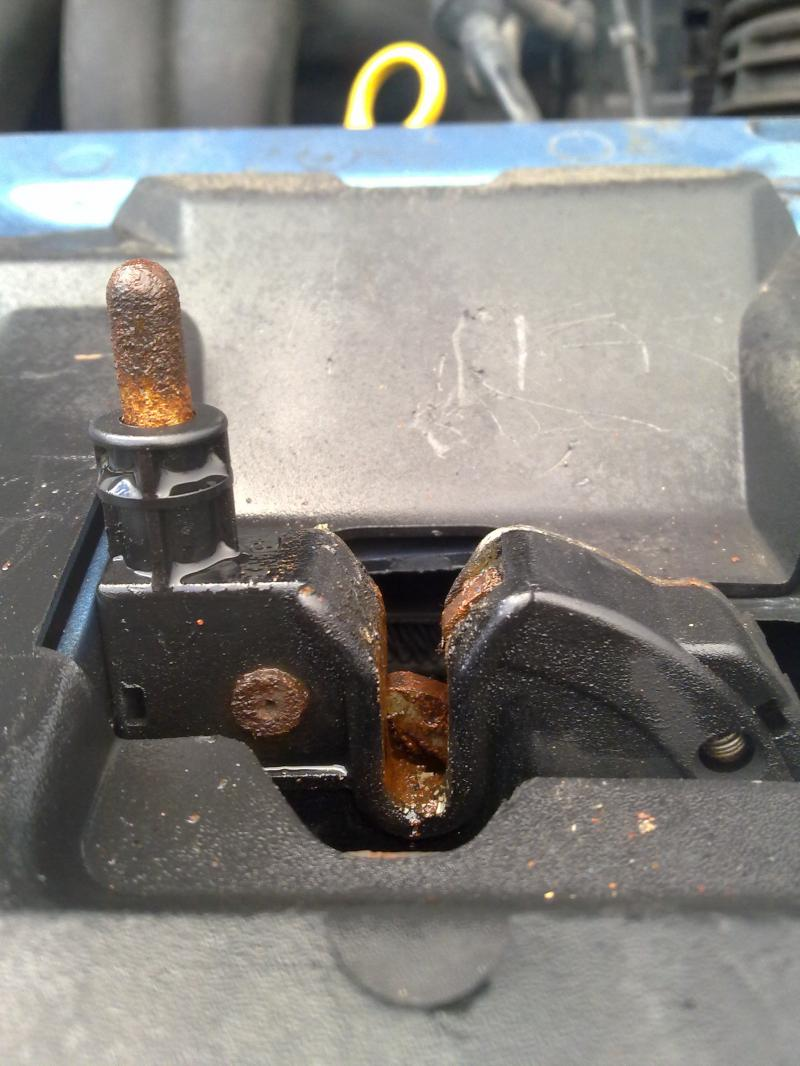 Ford Focus 03 Mk1 Bonnet Latch Lock Cant Open Diynot